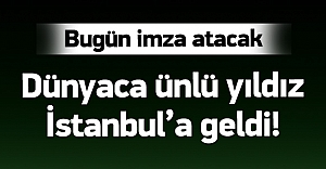 Lukas Podolski İstanbul'a...