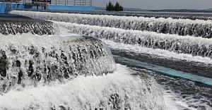 Sıcaktan kavrulan İstanbul'da su...