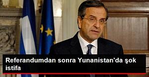 Yunan Ana Muhalefet Lideri Samaras Referandumdan Sonra İstifa Etti