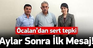 Aylar sonra Öcalan#039;dan ilk mesaj