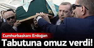 Erdoğan, Tulu Gümüştekin'in cenazesine katıldı