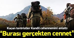 PKKdan kaçan teröristler Kandil#039;i...