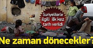 Plan işlerde Türkiye'deki Suriyeliler gidecek