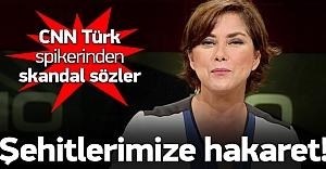 CNN Türk spikerinden şehitlerimize...