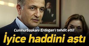 Ekrem Dumanlı Cumhurbaşkanı Erdoğan'ı tehdit etti!