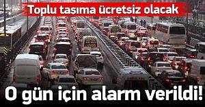İstanbul'da dersbaşı alarmı!