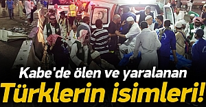 Kabe#039;de yaralanan Türk hacı...