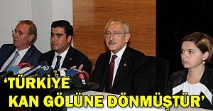 Kılıçdaroğlu, Gaziantep'te konuştu