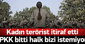 Teslim olan terörist: Halktan destek...