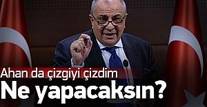 Tuğrul Türkeş: Buraya sarı çizgiyi çizdim