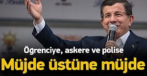 Başbakan Davutoğlu#039;ndan öğrencilere...