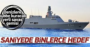 Denizlerimize kubbe kuracak yerli savaş gemisi