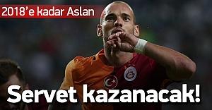 Galatasaray Sneijder ile resmen imzaladı!
