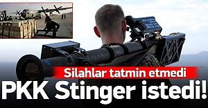 PKK ABD'den şimdi de Stinger istedi!