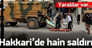 PKK'dan askere hain saldırı: Yaralılar var!