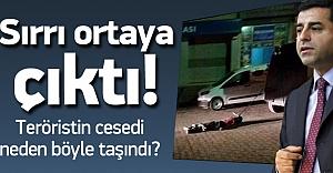 PKK#039;lının cesedi neden sürüklendi?