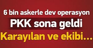 PKK#039;ya büyük operasyon! Karayılan...