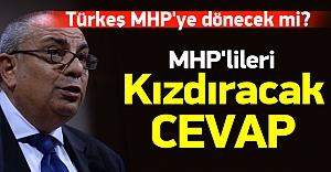 Tuğrul Türkeş MHP'ye dönecek mi?