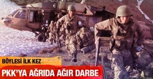Ağrı'da PKK ana karargahı imha edildi!