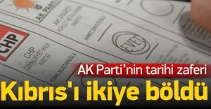 AK Parti#039;nin seçim zaferi Kıbrıs#039;ı...