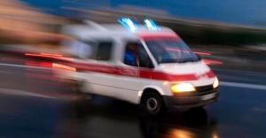Ambulanslara yol vermeyen yandı