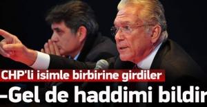 CHP'li isimle kavga ettiler! 'Gel haddimi bildir'