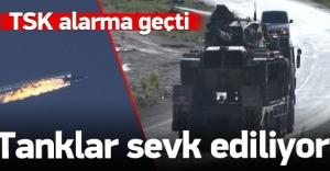 Hatay sınırına tanklar sevk ediliyor!