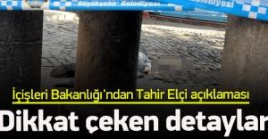 İçişleri Bakanlığı'ndan Tahir Elçi açıklaması