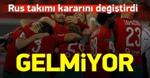 Lokomotiv Moskova Türkiye kamplarını iptal etti