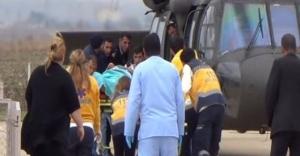 Polis aracı kaza yaptı: 3 polis yaralı