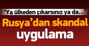 Rusya'da Türk öğrencilere 'köpekli' gözaltı