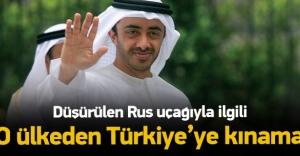 O ülkeden Türkiye'ye kınama