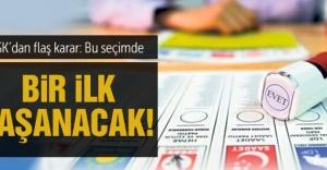 2015 genel seçimleri için YSKdan flaş karar