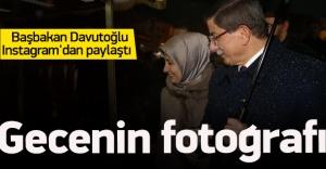Davutoğlu Instagram'dan paylaştı
