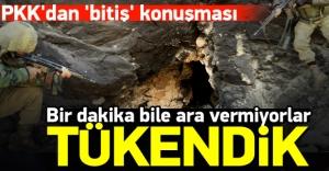 Köşeye sıkışan PKK#039;lıların...