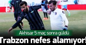 Akhisar Belediye - Trabzonspor: 2-1