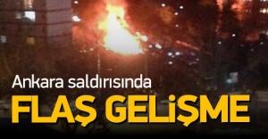 Ankara'daki hain saldırı ile ilgili flaş gelişme