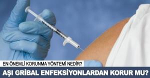 Aşı gribal enfeksiyonlardan korur mu?