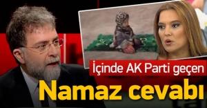 Demet Akalın'dan Ahmet Hakan'a namaz cevabı