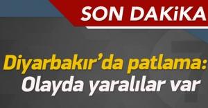 Diyarbakır'da patlama: Yaralılar var