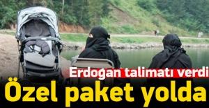 Erdoğan talimatı verdi! Özel paket yolda