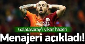 Galatasaray'ı yıkan haberi menajeri açıkladı!