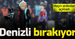 Mustafa Denizli'den flaş açıklama!
