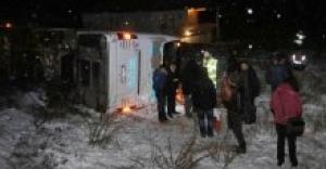 Otobüsler peş peşe devrildi! 34 yaralı