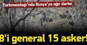 Rus generaller Türkmen Dağı#039;nda...