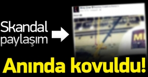 Skandal paylaşım! Beşiktaş'ı karıştırdı, kovuldu