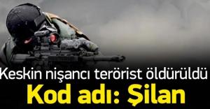 Sur'da PKK'lı keskin nişancı öldürüldü