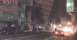Tayvan'da şiddetli deprem