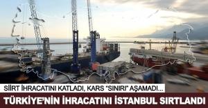 Türkiye'nin ihracatını İstanbul sırtlandı