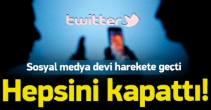 Twitter terörle ilgili...